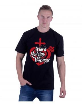 Koszulka męska Wiara,...