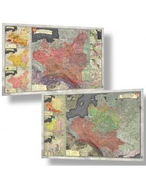 Zestaw Map A2 - I i II...